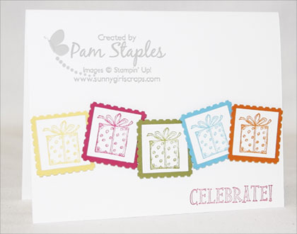 PCCCS #31:  Best of Birthdays Stamp Set