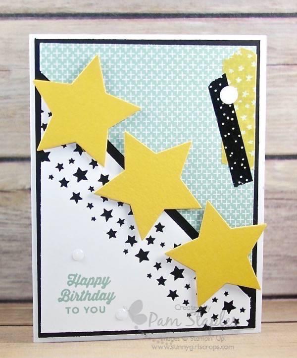 Confetti Stars Border Punch and CYCI #114