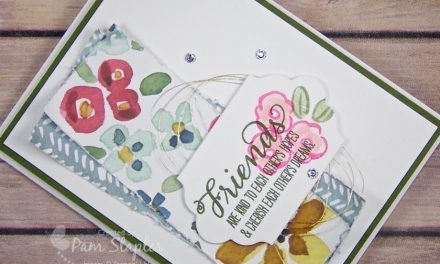 CARD: English Garden Designer Series Paper
