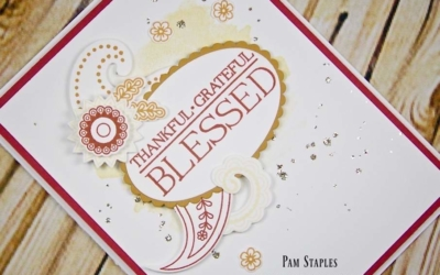 A Blessed Fall with Paisleys and Posies Card on Paper Craft Crew #215