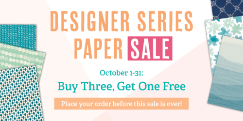 Designer Series Paper Sale Contact Pam or visit www.sunnygirlscraps.com to place your order today!