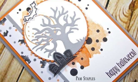 Halloween Card with Spooky Fun Bundle for PCC216