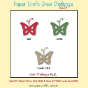 Play along with the Paper Craft Crew Color Sketch 221. Go to www.papercraftcrew.com #colorchallenge #pcc2016