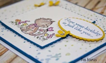 A Pretty Kitty Happy Birthday Wish for PCC226