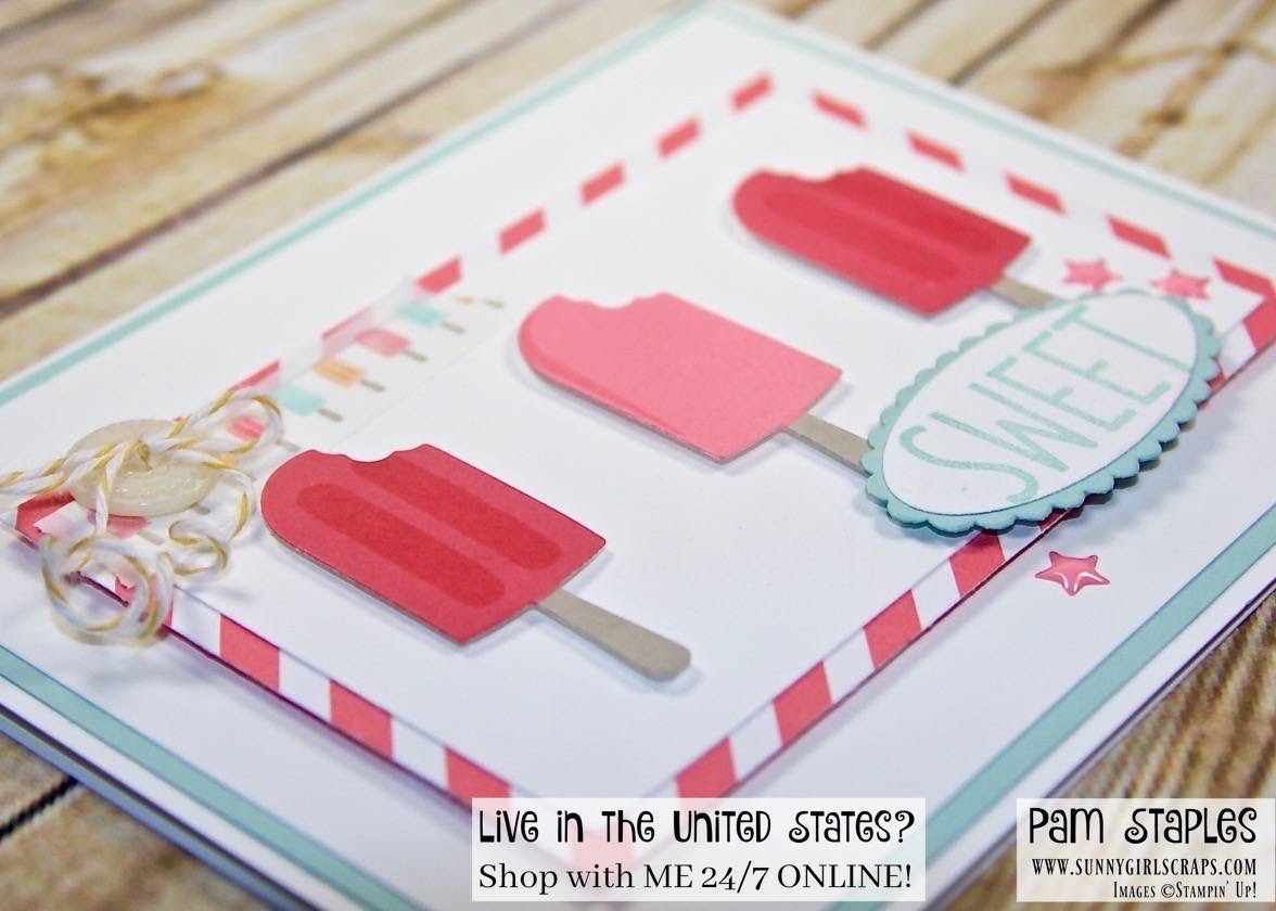 Cool Treats Raspberry Ice Popsicles by Pam Staples