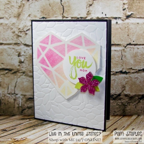 It's A Paper Pumpkin Thing - A Sara Thing blog hop featuring alternative projects using the April 2017 Paper Pumpkin Kit from Stampin' Up! For more details, visit my blog at www.sunnygirlscraps.com #apaperpumpkinthing #paperpumpkin #stampinup #sunnygirlscraps