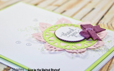 PCC247: Eastern Beauty Bundle Clean and Simple Card