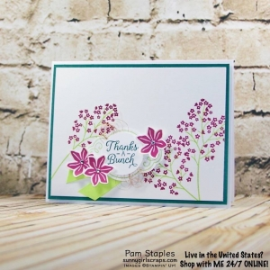 Beautiful Bouquet Stamp Set for SIP104