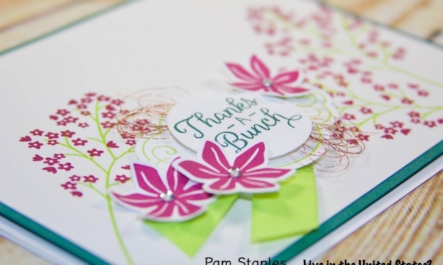SIP104 Color Challenge with Beautiful Bouquet