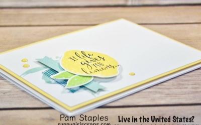 PCC256: Lemon Zest… When Life Gives you Lemons