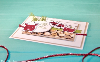 PCC268: Adorable Santa's Suit Holiday Card