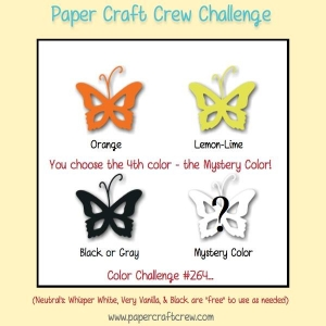 Paper Craft Crew Color Challenge 264