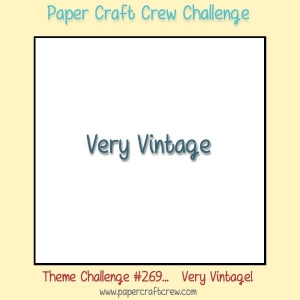 Play along with this weeks Paper Craft Crew Challenge 269 featuring a Very Vintage theme. Visit www.papercraftcrew.com for additional details. #papercraftcrew #pcc2017 #themechallenge #playalong #stampinup #sunnygirlscraps #papercrafting #papercrafts #stamping #stamps #papercraft #rubberstamp #rubberstamps #artsandcrafts #hobby #crafts #craftastherapy #createeveryday #happymail #snailmail #creativelifehappylife #handmadeisbetter #craftsposure #creativemess