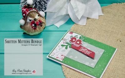 PCC271 Sketch: Smitten Mittens Handmade Card
