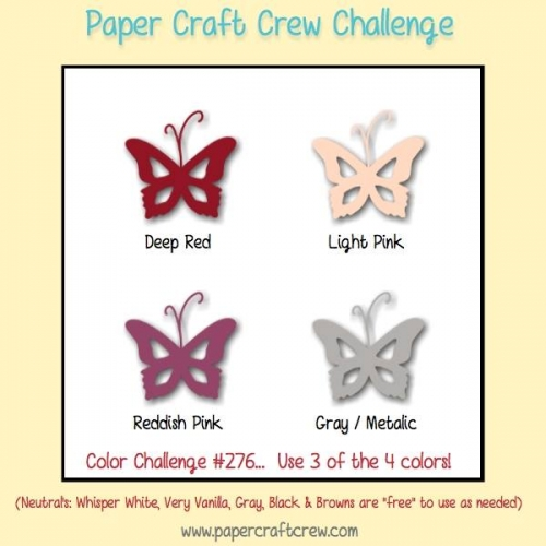 Paper Craft Crew 276 Color Challenge