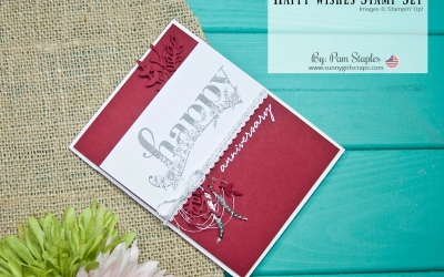 PCC276: Happy Wishes Sale-A-Bration Anniversary Card