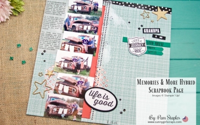 Scrapbook Sunday Blog Hop: How to use Repetition!