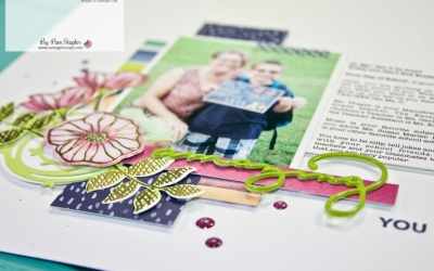 Scrapbook Sunday: Oh So Eclectic and Reasons to use Generous White Space