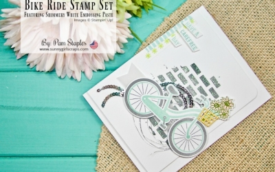 TCC #89: Spring has Sprung with Bike Ride Stamp Set