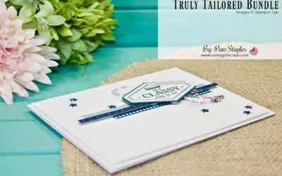 "PCC283: ""Classy Kind of Guy"" Truly Tailored Masculine Card"
