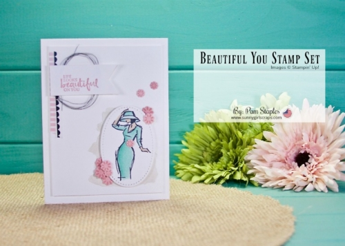 SHOP FOR STAMPIN' UP! ON-LINE 24/7. Card ideas using Beautiful You Stamp Set. Exclusive offers, card tips, 100's of card & paper crafting ideas. Visit www.sunnygirlscraps.com today! #sunnygirlscraps #stampinup #stamper #stamp #stamps #creative #create #creativity #becreative #makersgonnamake #craft #crafty #papercraft #papercrafts #diy #paperlover