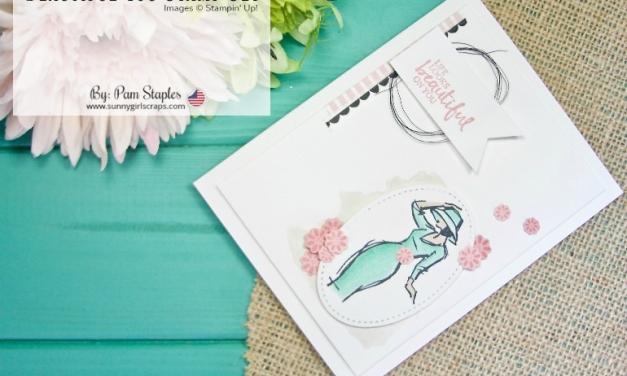 TCC91 – Blossoms in Blue Beautiful You Card