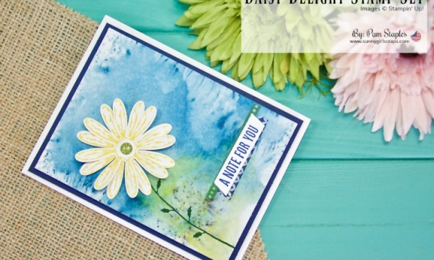 TCC92: Bold Bloom with Daisy Delight and Brusho Crystal Colors
