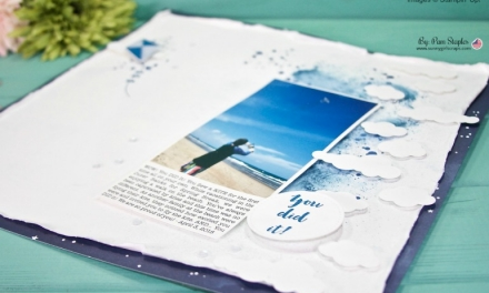 OSAT Blog Hop – Lay it Out Scrapbook Page and More