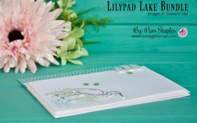 PCC297 – Happy Birthday Card with Lilypad Lake Bundle