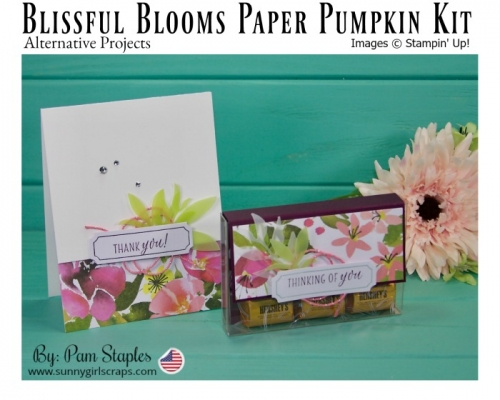 Alternative Paper Pumpkin Projects using the Blissful Blooms. Subscribe Today.