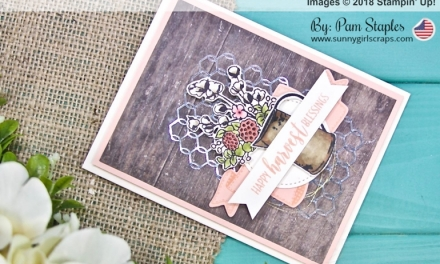 TCC100: Shabby Chic with Country Home Stamp Set