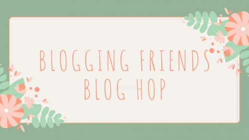 Blogging Friends Blog Hop banner